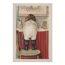 vintage badezimmer kunst poster zazzle at