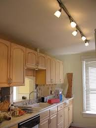 kitchen track lighting ideas for interior design in conjuntion