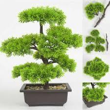 bonsai baum dekoblumen künstliche pflanzen fürs