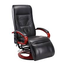 fauteuil bureau relax relax massant londres cuir noir