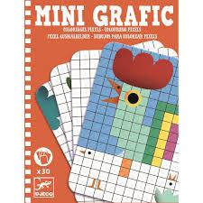 Mini Grafik Spiele Coloring Pixel Clolouring Pixel Djeco