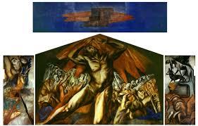 Jose Clemente Orozco Murals by Prometheus Jose Clemente Orozco Pomona College Claremont Ca 1930