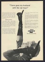 1963 United Airline Vintage Mainliner Aircraft Magazine Print Art Photo Ad