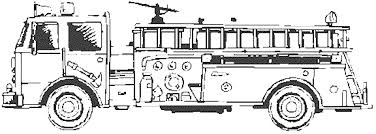 Fire Engine Coloring Pages With Print Download Educational Truck ...