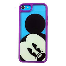 Your WDW Store Disney iPhone 5C Case Mickey Clear Purple