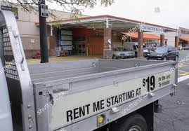 100 Renting A Truck From Home Depot Pickup Truck Available Hourly Rental Editorial Stock