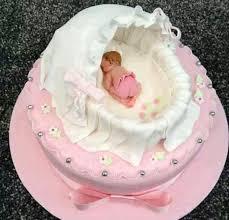 kreative tauftorten in bildern kuchen für babyparty
