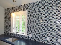 Tierra Sol Tile Vancouver Bc by Encore Ceramics Wave Mosaic Hand Glazed In Our Kona Color Blend