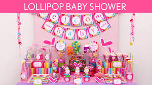 Lollipop Baby Shower Party Ideas