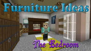Bedroom furniture ideas minecraft Video and s
