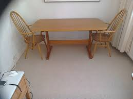 Ercol Windsor Blonde Dining Table And Chairs | In Plymouth, Devon ... Blonde Woman In Black Kitchen Ding Room Side Stock Image Art Deco Table Plus 4 Matching Chairs 509692 Ball And Claw Pladelphia Chair Kennedy Ding Suite With Benson Chairs Focus On Fniture Drexel Heritage Compatibles Wood Set Four City Brewing Publicans Gathering W Lager Alf Italy Modern Chairish Stunning Retro Ercol Vintage Light Brooklyn Home Tour Style Drop Leaf Quaker Back Mcm Blonde Splayed Leg Table 5 Picked 54 Round Elegant Pine Center Or Intended