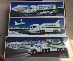 Hess Truck Collection Lot Of 12 Toy Trucks - 1996-2004 | #1933740144 The Hess Trucks Back With Its 2018 Mini Collection Njcom Toy Truck Collection With 1966 Tanker 5 Trucks Holiday Rv And Cycle Anniversary Mini Toys Buy 3 Get 1 Free Sale 2017 On Sale Thursday Silivecom Mini Toy Collection Limited Edition Racer 911 Emergency Jackies Store Brand New In Box Surprise Heres An Early Reveal Of One Facebook Hess Truck For Colctibles Paper Shop Fun For Collectors Are Minis Mommies Style Mobile Museum Mama Maven Blog