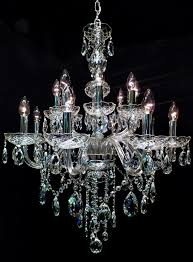 211 Best Fancy Chandelier Images On Pinterest Lighting Design With Regard To Amazing Property White Crystals Prepare