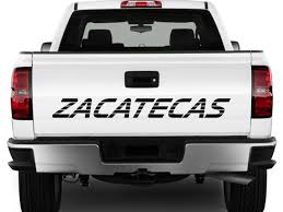 Zacatecas Mexico Truck Decal Sticker Tailgate For Chevy Alabama Crimson Tide 4x4 Truck Decal Stickers Free Shipping Hub Tire Tread Mud Terrain Ta 4x4 Truck Jeep Hood Body Graphic Duck Hunting Sticker Camo Max Grass Decal For F150 F Red F250 Firefighter Edition Decals Fire Ford Torn Stripes Bed Vinyl Graphics Chevy Gmc Z71 Off Road Decalsticker X2 Pair Sticker Black Logo Decal 4wd Ford Ranger 22014 T6 Officially Licensed 092014 Pair 09144x4 Beautiful Nissan 7th And Pattison Free Shipping 2pc Piranhas Sticker Vinyl Off Road Reaper Rip Side Mudslinger 2015 2016 2017 2018