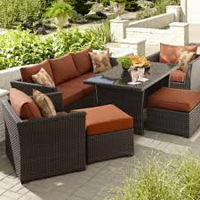Ty Pennington Patio Furniture Parkside by Grand Resort Bedford 6 Piece Outdoor Seating Set With Coffee Table