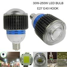 free shipping buy best 30w 50w 60w e27 e40 led bulb 100w 120w