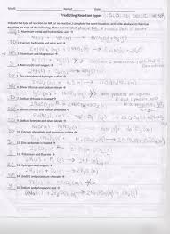 11 1 Describing Chemical Reactions Section Review Answers