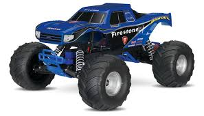 100 Bigfoot Monster Truck Toys Amazoncom Traxxas RC 110 Scale 30 Mph