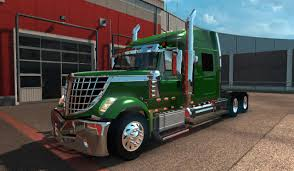 ETS2 : ( International LoneStar Truck - ISX 450hp Engine ) - YouTube