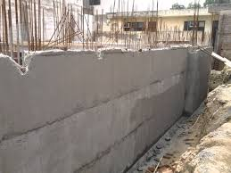 Construction Of Basement fiber mesh waterproofing of basement before raft u0026 wall etc