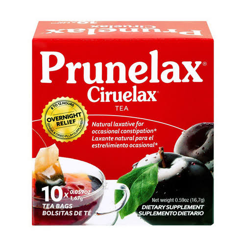 Prunelax Ciruelax Tea Dietary Supplement - 0.59oz