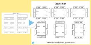 Floor Plan Template Powerpoint by Editable Table Seating Plan Powerpoint Table Seating Plan