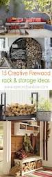Ana White Firewood Shed by Best 25 Outdoor Firewood Rack Ideas On Pinterest Wood Rack