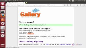Install Lamp Ubuntu 1404 Tasksel by How To Install Gallery3 In Ubuntu