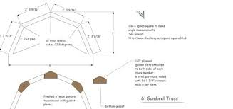 8 X 10 Gambrel Shed Plans by Shed Roof Building A Shed Roof Roof Framing