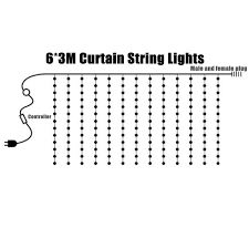 6M*3M EU Plug Icicle Window 600 LED Curtain Starry Fairy String Light For  Holiday Wedding Chrismas Decor AC220V Xiulo Durable Multicolored Dance Hand Props Led Light Up Juggling Thrown Balls Prop Danc Cp Lighting Coupon Code Eertainment Book 2018 Best Websites To Whosale Lights In Cadachinaindia Alinum Channel For 6mm Glass Klus Exalu Series Super Bright Leds Lighting Store Earth City Missouri Ottlite Folding Magnifier Information Policies Ledglasses Hashtag On Twitter Strip Addressable Strips Waterproof Desert Steel 409305 Multitasking Trioh A Bright Idea Flashlight Design Cnet