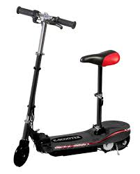 Black Electric Scooter With Seat Special LED Lights GBP12999