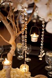Manzanita Branches With Hanging Candles