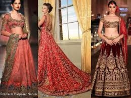 Latest Indian Designer Wedding Lehenga Trends 2015 2016
