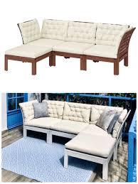 ikea applarö sofa hack ikea outdoor sofa diy gartenmöbel