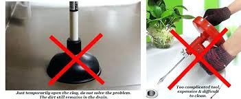 Natural Sink Clog Remover by Kitchen Sink Drain U2013 Intunition Com