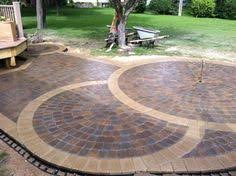 Menards Patio Paver Kits by Circular Patio Kit How To Menards Endless Summer Pinterest