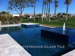 Lightstreams Glass Pool Tile