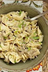 Creamy Beef Noodles