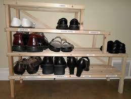 Simple Design Of Ike Shoes Rack In Ladder Shape Made Of Brown ... Fniture Beauteous For Small Walk In Closet Design And Metal Shoe Rack Target Mens Racks Closets Storage Wooden Plans Wood Designs Cabinet Lawrahetcom Entryway Awesome House Good Ideas Sweet Running Diy With Final Measurements Interesting Outdoor 15 Your Trends Home Interior Shoe Rack Homemade 20 Cabinets That Are Both Functional Stylish Closed Best 25 Racks Ideas On Pinterest Chic Of White Painted
