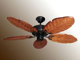 ceiling fans palm blades pineapple aged bronze outdoor ceiling fan