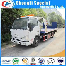 China 5ton Isuzu Platform Wrecker Tow Truck For Sale - China Tow ...
