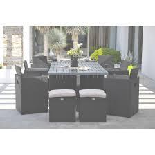 chaise salon de jardin resine tressee salon de jardin table et