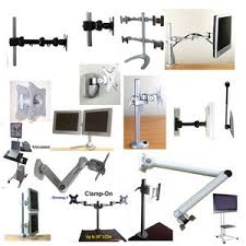 Vesa Desk Mount Articulating Arm by Lcd Monitor Mounts