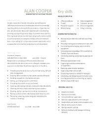 Secretary Objective For Resume Examples Unit Clerk