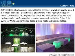 Lounge Furniture Rental NYC Event Specialists Serving Long Island …
