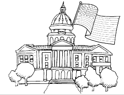 Epic White House Coloring Page 72 In Free Kids With