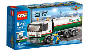 100 Lego City Tanker Truck 60016 Speed Build YouTube