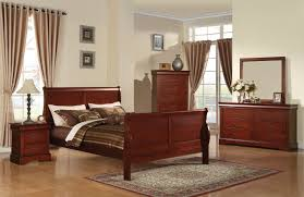 North Shore King Sleigh Bed by Acme Louis Phillipe Iii California King Sleigh Bed In Cherry 19514ck