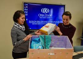 Open Door s Baby Box Helps Get Expectant Moms The Right Path