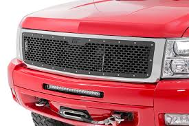 Mesh Replacement Grille For 2007-2013 Chevrolet Silverado 1500 ... 2015chevysveradohdcustomsportgrille The Fast Lane Truck Eternity Custom 2002 Chevy Silverado Photo Image Gallery Status Grill Accsories New Grille Options For The Chevrolet 1500 Bumper Ebay 07 Tahoe Black Billet Grille And Headlight Covers 2500hd Questions Does Anyone Make A Custom How To Install Trex Torch Youtube Mytightridecom Trex Join Dominate Automotive Billet 2014 Grilles Available Now Stillen